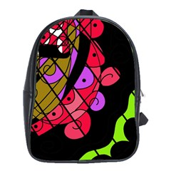 Elegant Abstract Decor School Bags (xl)  by Valentinaart