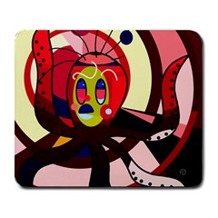 Octopus Large Mousepads by Valentinaart