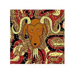Billy Goat Small Satin Scarf (square) by Valentinaart