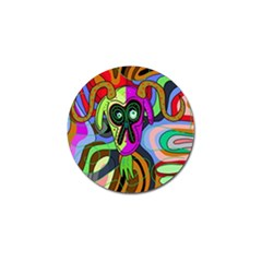 Colorful Goat Golf Ball Marker (10 Pack) by Valentinaart