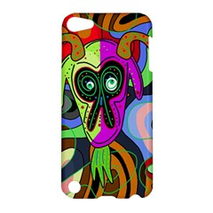 Colorful Goat Apple Ipod Touch 5 Hardshell Case by Valentinaart