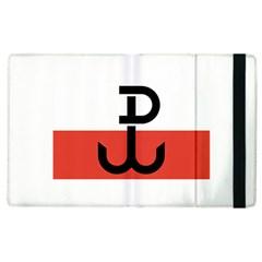 Flag Of The Polish Underground State, 1939 1945 Apple Ipad 2 Flip Case by abbeyz71