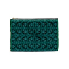Celtic Gothic Knots Cosmetic Bag (medium)  by pepitasart