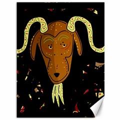 Billy Goat 2 Canvas 36  X 48   by Valentinaart
