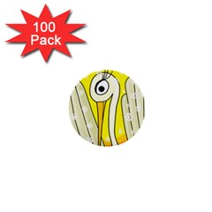 Crane 1  Mini Buttons (100 Pack)  by Valentinaart