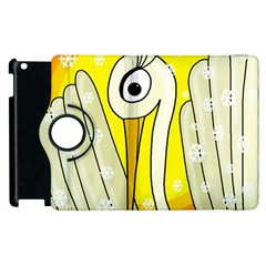 Crane Apple Ipad 2 Flip 360 Case by Valentinaart