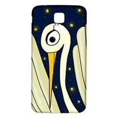 Crane 2 Samsung Galaxy S5 Back Case (White) by Valentinaart