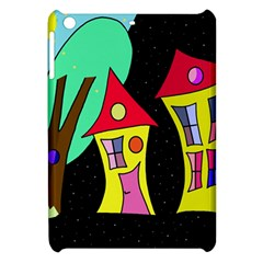 Two Houses 2 Apple Ipad Mini Hardshell Case by Valentinaart