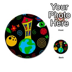 Playful Universe Multi Purpose Cards (round)