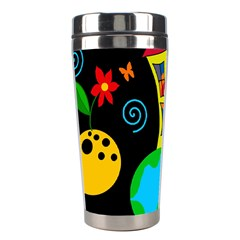 Playful Universe Stainless Steel Travel Tumblers by Valentinaart