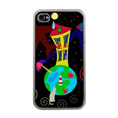 Colorful Universe Apple Iphone 4 Case (clear) by Valentinaart