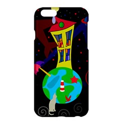 Colorful Universe Apple Iphone 6 Plus/6s Plus Hardshell Case by Valentinaart
