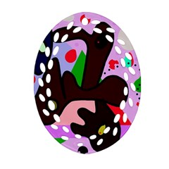 Decorative Abstraction Ornament (oval Filigree)