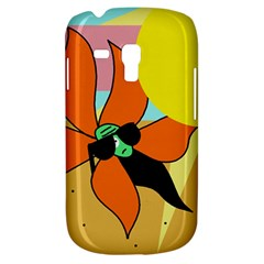 Sunflower On Sunbathing Samsung Galaxy S3 Mini I8190 Hardshell Case by Valentinaart