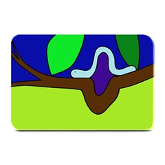Caterpillar  Plate Mats by Valentinaart