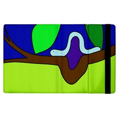 Caterpillar  Apple Ipad 2 Flip Case by Valentinaart