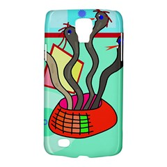 Dancing  Snakes Galaxy S4 Active by Valentinaart
