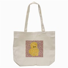 Cute Thing Tote Bag (cream) by Valentinaart
