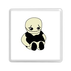 Halloween sad monster Memory Card Reader (Square)