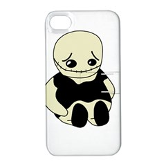 Halloween Sad Monster Apple Iphone 4/4s Hardshell Case With Stand by Valentinaart