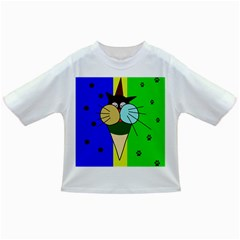 Ice Cream Cat Infant/toddler T Shirts by Valentinaart