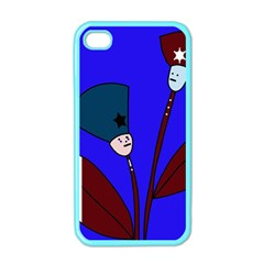 Soldier Flowers  Apple Iphone 4 Case (color) by Valentinaart