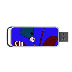 Soldier Flowers  Portable Usb Flash (two Sides) by Valentinaart