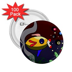 Fish 2.25  Buttons (100 pack)