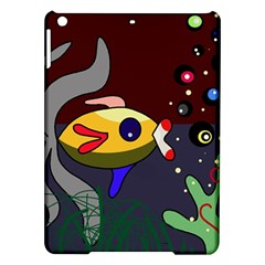 Fish Ipad Air Hardshell Cases by Valentinaart