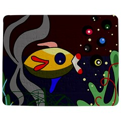 Fish Jigsaw Puzzle Photo Stand (rectangular) by Valentinaart