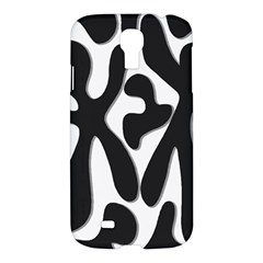 Black And White Dance Samsung Galaxy S4 I9500/i9505 Hardshell Case by Valentinaart