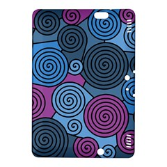 Blue Hypnoses Kindle Fire Hdx 8 9  Hardshell Case by Valentinaart