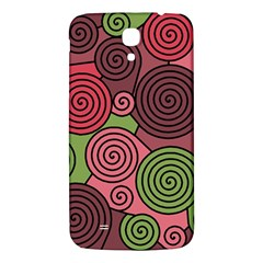 Red And Green Hypnoses Samsung Galaxy Mega I9200 Hardshell Back Case by Valentinaart