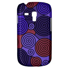 Blue and red hypnoses  Samsung Galaxy S3 MINI I8190 Hardshell Case by Valentinaart