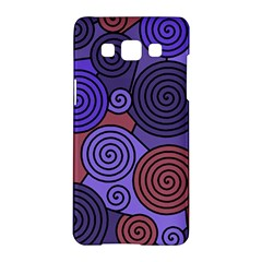 Blue And Red Hypnoses  Samsung Galaxy A5 Hardshell Case  by Valentinaart
