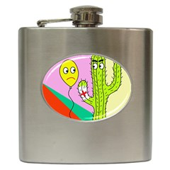 Health Insurance  Hip Flask (6 Oz)