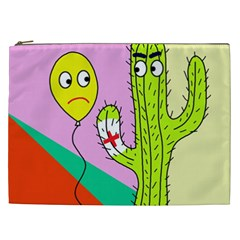 Health Insurance  Cosmetic Bag (xxl)  by Valentinaart