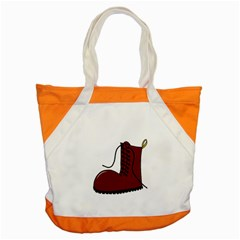 Boot Accent Tote Bag by Valentinaart