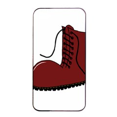 Boot Apple Iphone 4/4s Seamless Case (black) by Valentinaart