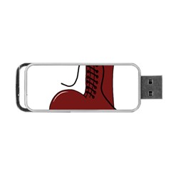 Boot Portable Usb Flash (two Sides) by Valentinaart