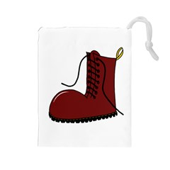 Boot Drawstring Pouches (large)  by Valentinaart
