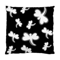 White Dragonflies Standard Cushion Case (one Side) by Valentinaart