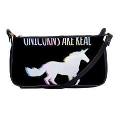 Unicorns Are Real Shoulder Clutch Bags