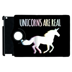 Unicorns Are Real Apple Ipad 3/4 Flip 360 Case