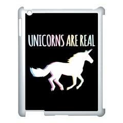 Unicorns Are Real Apple Ipad 3/4 Case (white) by TanyaDraws