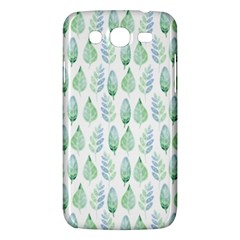 Green Watercolour Leaves Pattern Samsung Galaxy Mega 5 8 I9152 Hardshell Case  by TanyaDraws