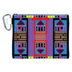 House O House Canvas Cosmetic Bag (xxl) by MRTACPANS
