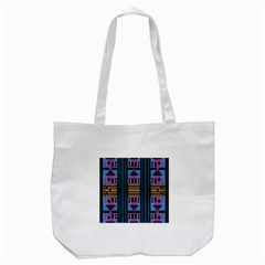 House One House Tote Bag (white) by MRTACPANS