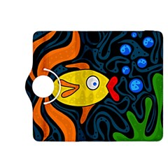 Yellow Fish Kindle Fire Hdx 8 9  Flip 360 Case by Valentinaart