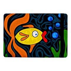 Yellow Fish Samsung Galaxy Tab Pro 10 1  Flip Case by Valentinaart